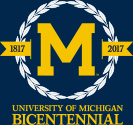 University of Michigan Bicentennial - 1817 to 2017