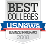 U.S. News - Best Colleges - Business Programs 2018